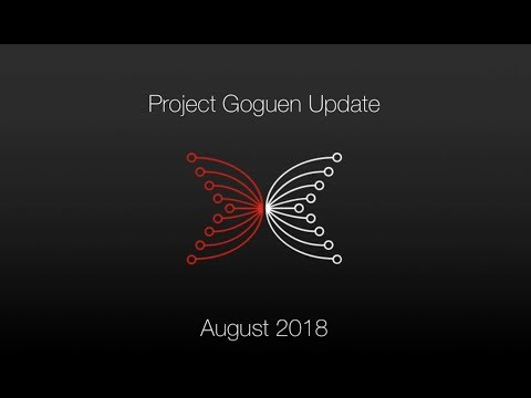 IOHK | PMO Project Goguen August 2018 Update