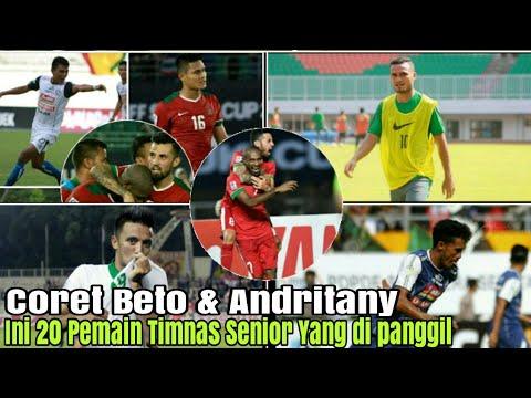 Resmi.! Tidak Ada Beto Dan Andritany | Ini 20 Pemain Timnas Indonesia Senior| Untuk Hadapi Mauritius