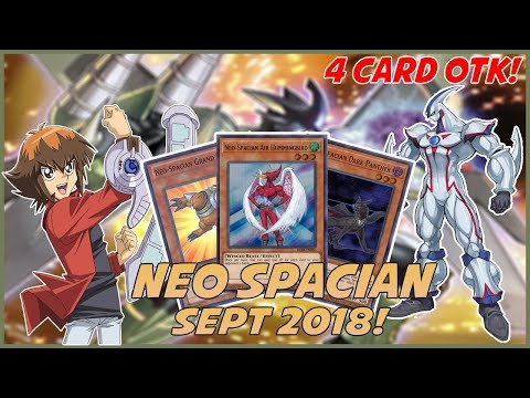 YuGiOh *COMPETITIVE* In-Depth Neo Spacian Deck Profile! |4 Card OTK COMBO!| [September 2018]