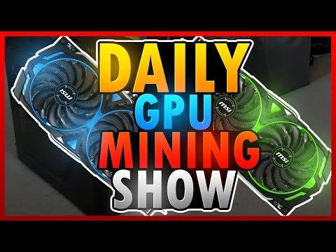 Bitcoin above 7k Mining show