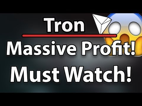Tron (TRX) A Massive Profit Opportunity! New Exchange, New Merchandise & More! (Must Watch)