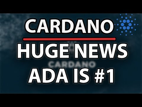 Cardano (ADA) Huge News! Ada Will Go To Number 1! Here's Why! New Fiat Pairs, Best Proof Of Stake!