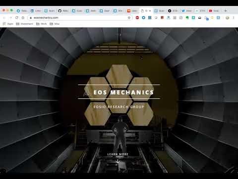 Weekend updates – ETH crash, EOS name trading, Scatter Desktop, EOS Mechanics