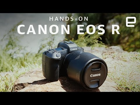 Canon EOS R Full-Frame Mirrorless Camera Hands-On