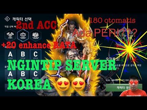 NGINTIP SERVER KR!! Orc ( LVL 180 + 20 rata ) + 2nd ACC + ada fitur peri ? LINEAGE 2 REVOLUTION