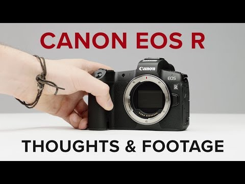 Canon EOS R – First Technical Look