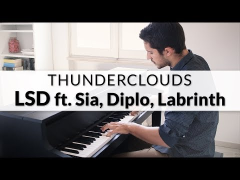 LSD – Thunderclouds feat. Sia, Diplo, Labrinth | Piano Cover