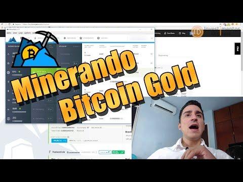 COMO MINERAR BITCOIN GOLD COM MINERGATE !