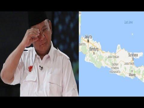 Dipilpres 2019 Nanti, Tak Ada Tempat Untuk Prabowo di Pulau Jawa