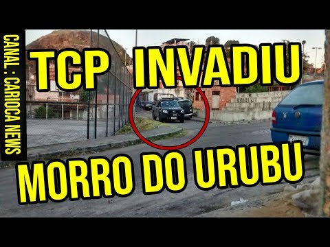 🆑 TCP INVADE E EXPULSA ADA NO MORRO DO URUBU  PILARES RJ
