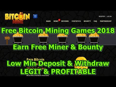 #MINER Gratis & #BOUNTY Menarik Dari #BITCOINMINE Free Bitcoin Mining Game 2018 #LEGIT & #PROFITABLE