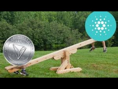 Cardano vs Tron & ADA Will Take Over The World! Eos Becoming Cheaper & Price Analysis