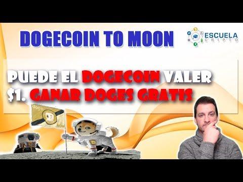 ☀ Dogecoin a 1 Dolar │Gana DOGES GRATIS │Escuela Cripto ☀