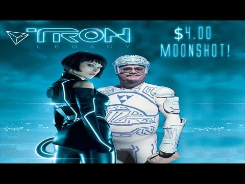 TRON (TRX) Justin Sun Is Taking Over Social Media! $4 Moonshot Approaching!