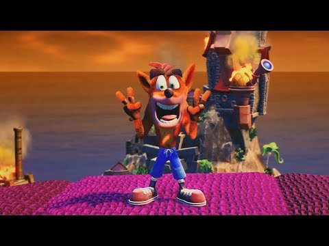 Beating Neo Cortex And Stormy Ascent | Crash Bandicoot #3