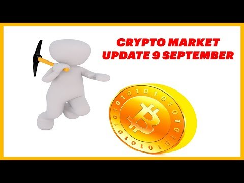 Cryptocurrency Market Update 9 September 2018