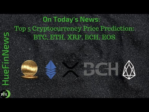 Crypto's Price Prediction | BTC, ETH, XRP, BCH, and EOS – September 9, 2018
