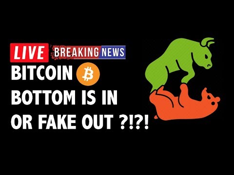 Bottom or Fake Out for Bitcoin (BTC)?! – Crypto Market Technical Analysis & Cryptocurrency News