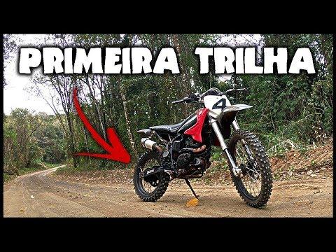 PRIMEIRA TRILHA COM A STX 200 – TGS NA TRILHA