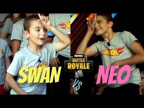 SWAN vs NEO/ QUI DANSE LE MIEUX FORTNITE?? [DANS LA VRAI VIE]