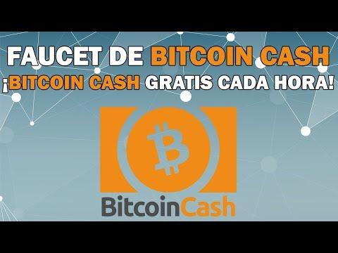 Faucet de Bitcoin Cash | Bitcoin Cash gratis cada hora