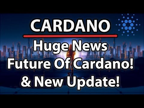 Cardano Huge News About The Future, New Update & Charles Sends a Message!