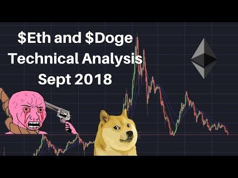 Ethereum and Dogecoin Price Technical September 10 2018