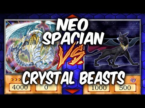 Yugioh NEO SPACIANS vs CRYSTAL BEASTS (Yugioh Fun Decks)