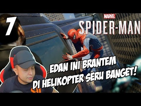 SUMPAH SERU BGT DAH, ADA MILES MORALES! – MARVEL SPIDERMAN PS4 INDONESIA #7