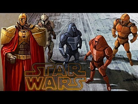 All Mandalorian Neo-Crusader Soldier Types & Ranks – Star Wars Explained