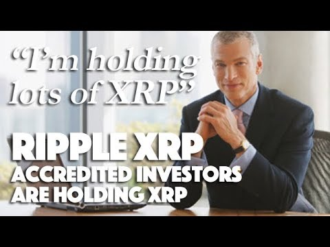 Ripple XRP: Accredited Investors Are Holding XRP & 72% Of Investors Wanna Buy More Crypto!