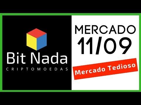 Mercado de Cripto! 11/09 Mercado Tedioso / Bitcoin aumenta dominância / IOTA / Pirâmide / ETF