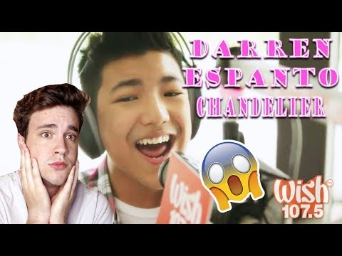 Darren Espanto – Chandelier Sia LIVE! *REACTION* (Wish 107.5)