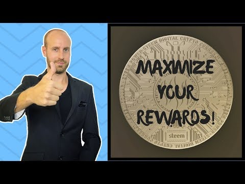 How To Maximize Your Rewards on Steemit!