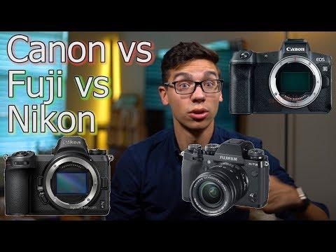 3 Cameras- Fuji X-T3, Nikon Z6/7, Canon EOS R: First Impressions / Thoughts Comparison