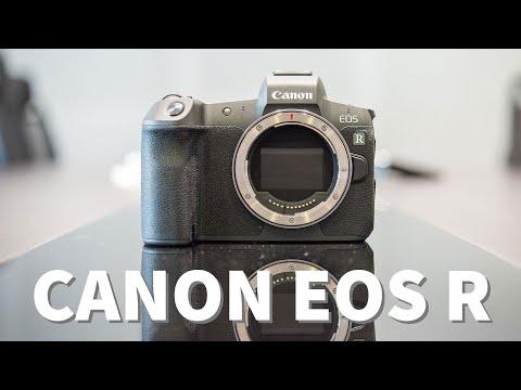 Trên Canon EOS R