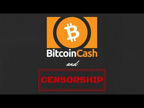 Bitcoin Cash and censorship