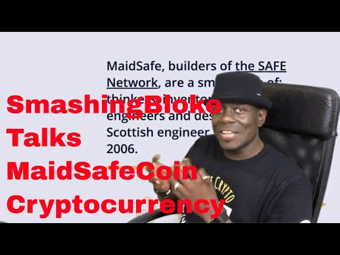 SmashingBloke Talks MaidSafeCoin Cryptocurrency