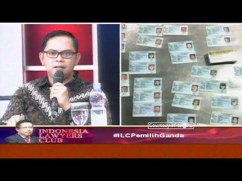 Kenapa Ada Daftar Pemilih Ganda, Ini yang Ditemukan KPU || ILC 11 September 2018