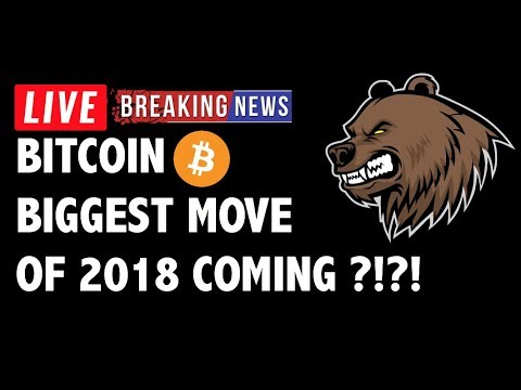 Biggest Move of 2018 to Hit Bitcoin (BTC)?! – Crypto Market Technical Analysis & Cryptocurrency News