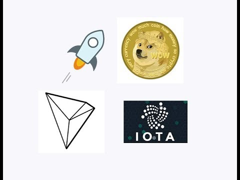Dogecoin, XLM, IOTA, TRON – My top coins for September/October