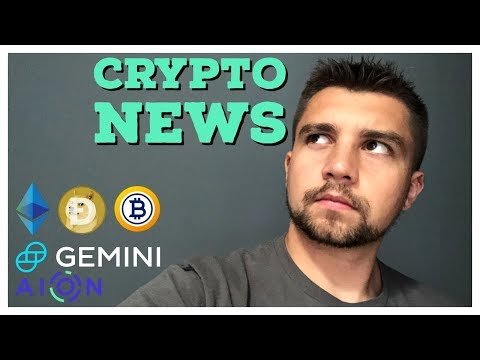 ICO's Dump $30M ETH | BTG Delisted | Gemini FDIC Insured Crypto | Aion Swap | Dogecoin Pumps