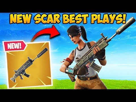 *NEW* SILENCED SCAR IS BROKEN! – Fortnite Funny Fails and WTF Moments! #318