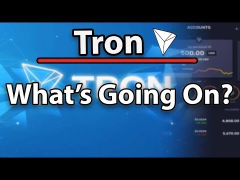 Tron (TRX) What's Going On? Partnerships? Goals? Price?