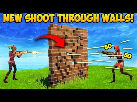 *NEW* SHOOT THROUGH WALLS TRICK! – Fortnite Funny Fails and WTF Moments! #319