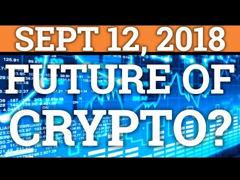 WHATS IN THE FUTURE FOR BITCOIN + CRYPTOCURRENCY? | DOGECOIN VS VECHAIN? (DAY TRADING + NEWS 2018)
