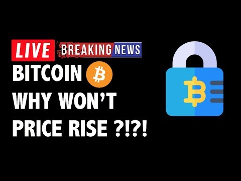 Why Isn't Bitcoin (BTC) Able to Rise?! – Crypto Market Technical Analysis & Cryptocurrency News