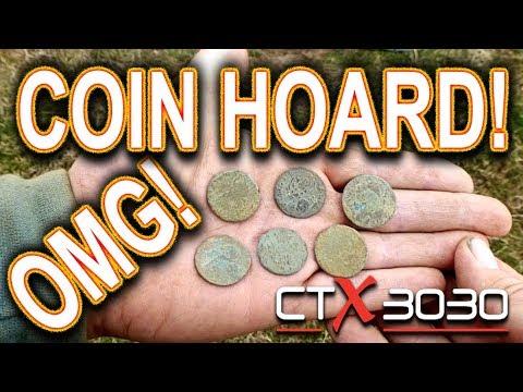OMG! 16 Hundreds Coin Hoard!