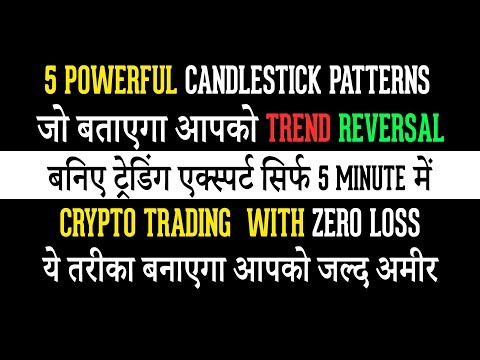 5 Powerful Charting Candle Stick Patterns for Cryptocurrency, Forex & Stock Market Trading