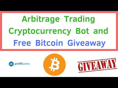 Arbitrage Trading Cryptocurrency Bot and Free Bitcoin Giveaway!